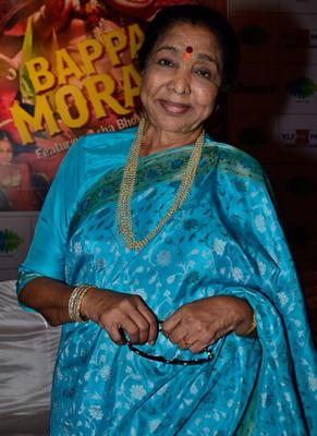 Asha Bhosle Attend Bappa Moraya Album Launch At IMFAA