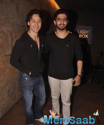 Tiger Shroff At The Launch Of His Tribute Of Michael Jackson Video