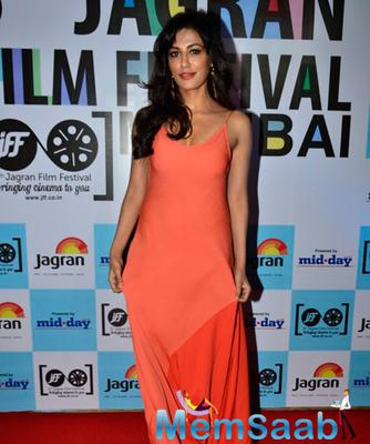 Chitrangada Singh Arrive At Jagran Film Festival With A Sizzling Outfit