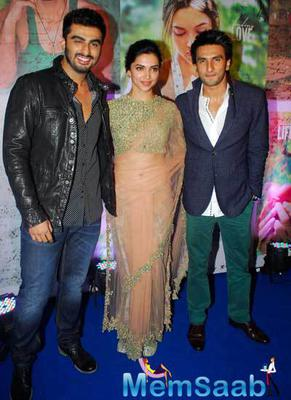 Deepika,Arjun And Other Celebs Attend The Success Bash Of Finding Fanny