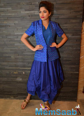 Parvathy Omnnakuttan Photo Shoot For Designer Shruti Sancheti