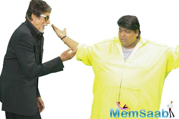 Amitabh Bachchan Special Dance With Ganesh Acharya