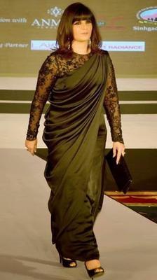 Designer Neeta Lulla Walked On Ramp During Femina Style Diva Award 2014 Finals