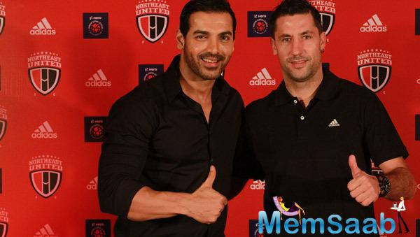 John Abraham Gives Warm Welcome To Joan Capdevila