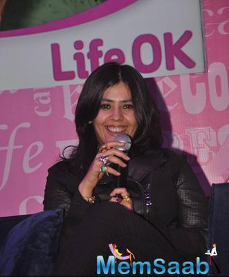 Ekta Kapoor Interact With Media About Her New Production Ajeeb Dastaan Hai Yeh