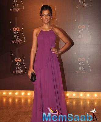 Mugdha Godse Looked Beautiful At GQ Men Of The Year Awards 2014