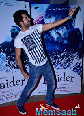 Bollywood Celebs Attends The Screening Of Haider