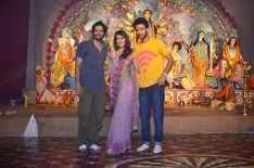 Cast Of Sonali Cable Movie Celebrates Durga Puja