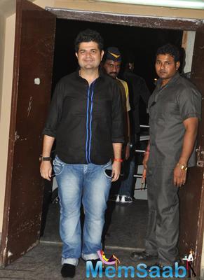 Dabboo Ratnani Posed For Media At Bang Bang Special Screening Hosted By Hrithik Roshan