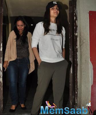 Alia Bhatt And Sushmita Sen Bond Over Films
