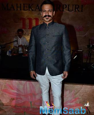 Vivek Oberoi And Other Celebs At Maheka Mirpuri Charity Fashion Show