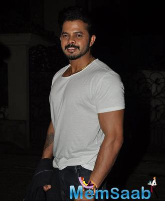 Sreesanth Snapped At Ekta Kapoor House