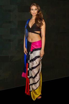 Ileana D'Cruz Ravishing Look For Satya Pauls Autumn Winter 2014 Collection