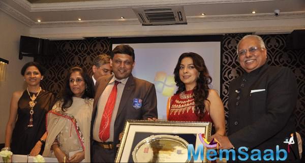 Rotary International Club Awarded Juhi Chawla