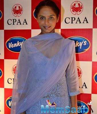 Neetu Chandra Attend Breast Cancer Awareness Programme