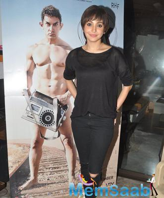 Anushka Unveils New Poster Launch Of Her Upcoming Movie PK