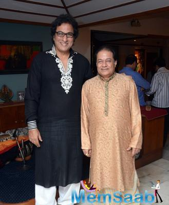 Anup Jalota Diwali Party Cum Gazal Album Launch
