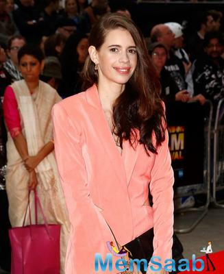 Kalki Glammed Up For The Premiere Of Her Movie Margarita With A Straw' Premiere In London