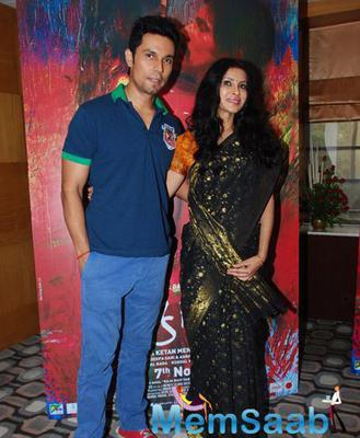 Randeep Hooda And Nandana Sen Promote Their Upcoming Flick Rang Rasiya