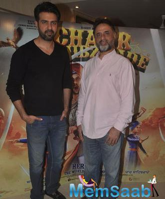 Harman Baweja And Father Harry Baweja Clicked For Shutterbugs