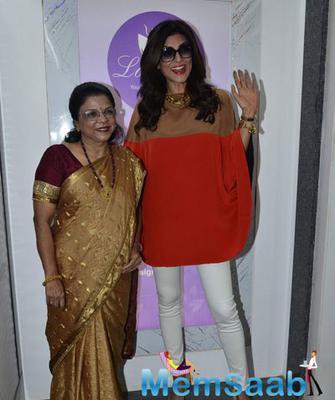 Sushmita Sen At Dr Trasi Clinic Launch In Khar Mumbai