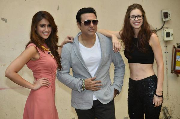 Ileana D'Cruz Govinda And Kalki At Happy Ending Photo Shoot Event