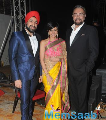 Mandira Bedi At Felicitation And Gala Networking Night Of ACETECH 2014