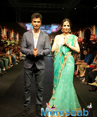 Malaika Arora Khan At The Madame Style Week 2014