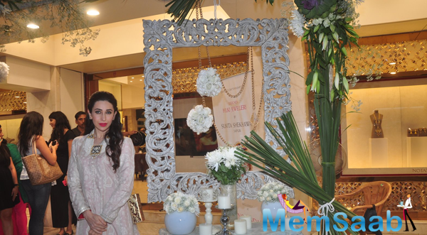 Karisma Kapoor At Notandas Jewellers Store Launch