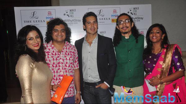 Dino Morea At Shail Mane Why A Stray Calendar Launch
