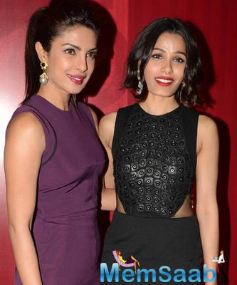 Priyanka Chopra And Freida Pinto Attended The Girl Rising Event