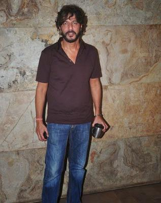Chunky Pandey Clicked At Lightbox