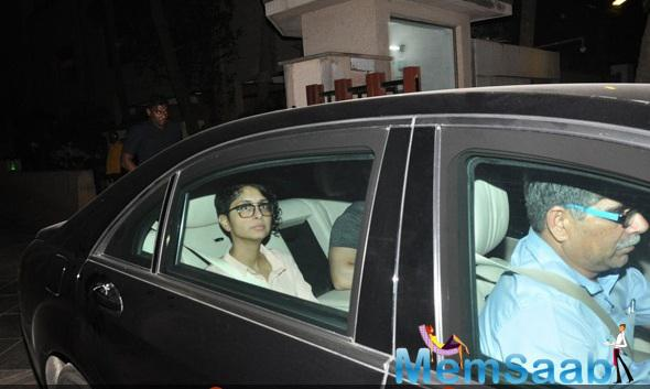Celebs Snapped At Ranbir Kapoor House