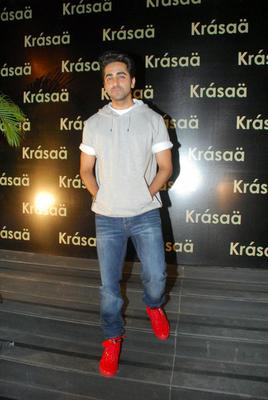 Ayushmann Khurrana Casual Look During The Launch Of Vikram Phadnis Fashion Store Krasaa