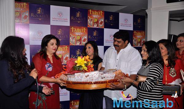 Farah Khan At Munish Khatwani Tarot Predictions 2015 Book Launch