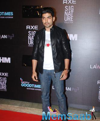 Gurmeet Choudhary Handsome Look During Axe Signature And FHM Bachelor Of The Year 2014 Awards