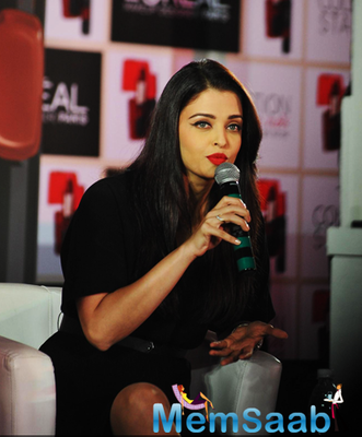 Aishwarya Rai Bachchan Launched Popular Cosmetic Brand L'Oréal Pure Reds Collection
