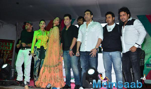 Sonam, Arbaaz And Malaika At Film Dolly Ki Doli Music Launch
