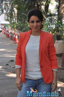 Tisca Chopra Snapped At Rahasya Media Meet