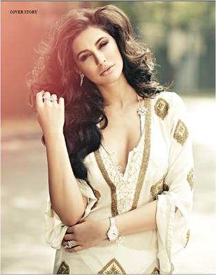 Nargis Fakhri Shoot For Noblesse Magazine January 2015 Issue