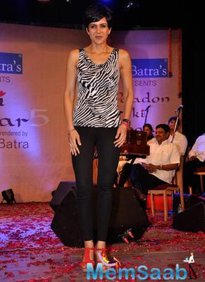 Mandira Bedi At Dr. Batra's Concert