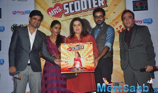 Farah Khan At Mrs. Scooter Music Launch