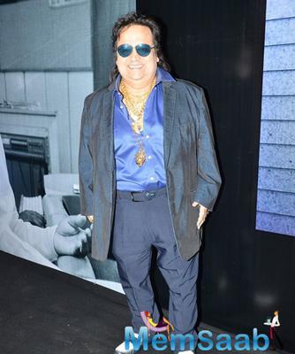 Bappi Lahiri At The Trailer Launch Of Shamitabh And Celebration Of 1000 Film Of Music Composer Ilaiyaraaja In Mumbai