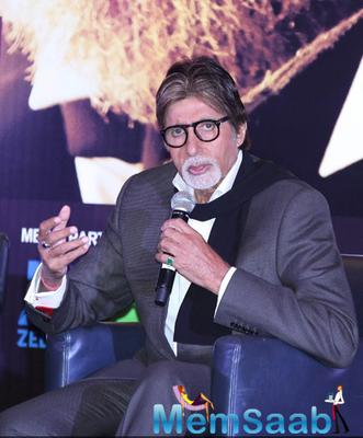 Amitabh,Dhanush And Akshara Promote Shamitabh In Dubai