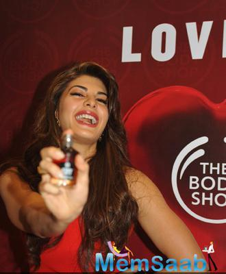 Jacqueline Fernandez At The Launch Of New Store Of The Body Shop