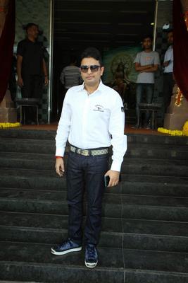 Bhushan Kumar Posed For Camera During The Trailer Launch Of Ek Paheli Leela Movie