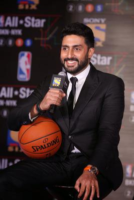 Abhishek Bachchan Becomes The First Ever Indian To Participate In NBA All Star