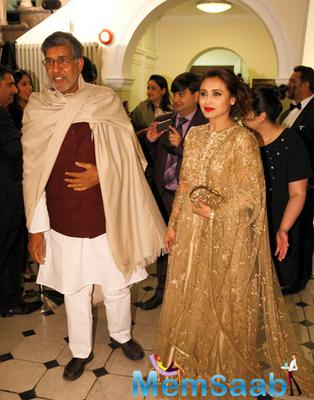 Kailash Satyarthi And Rani Mukerji Attend The Prince Charles Foundation Fundraiser Dinner
