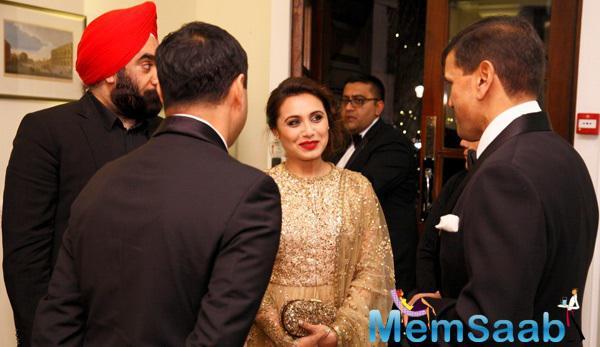 Rani Mukerji Gorgeous Look At The Prince Charles Foundation Fundraiser Dinner