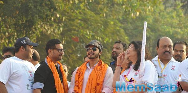 Shreyas Talpade At Little Hearts Marathon 2015 in Mumbai
